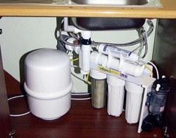 Установка фильтра очистки воды в Сургуте, подключение фильтра для воды в г.Сургут